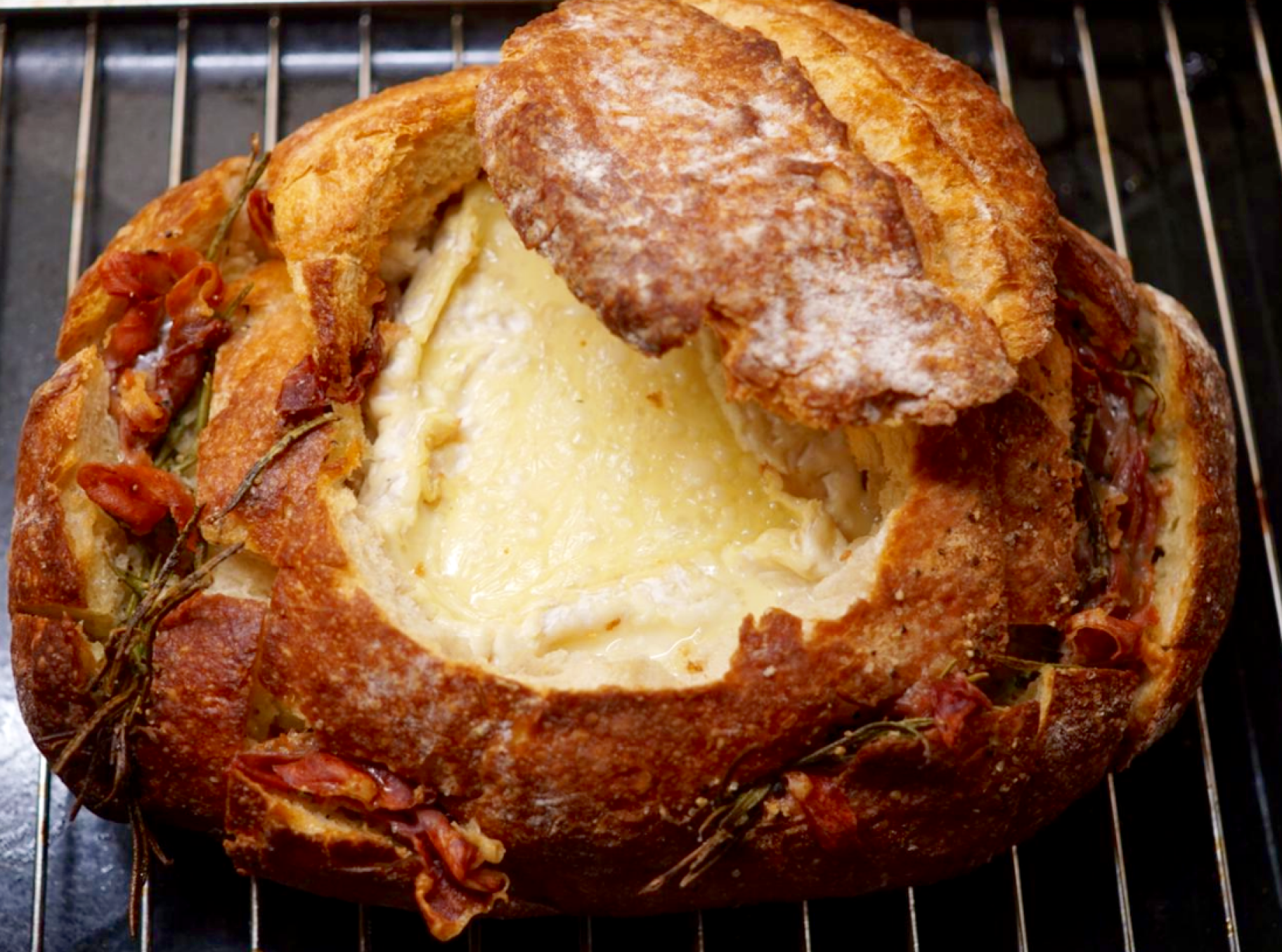 Best Baked Camembert With Rosemary And Prosciutto