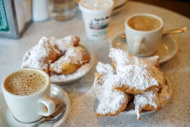 The Beignets at Café Du Monde