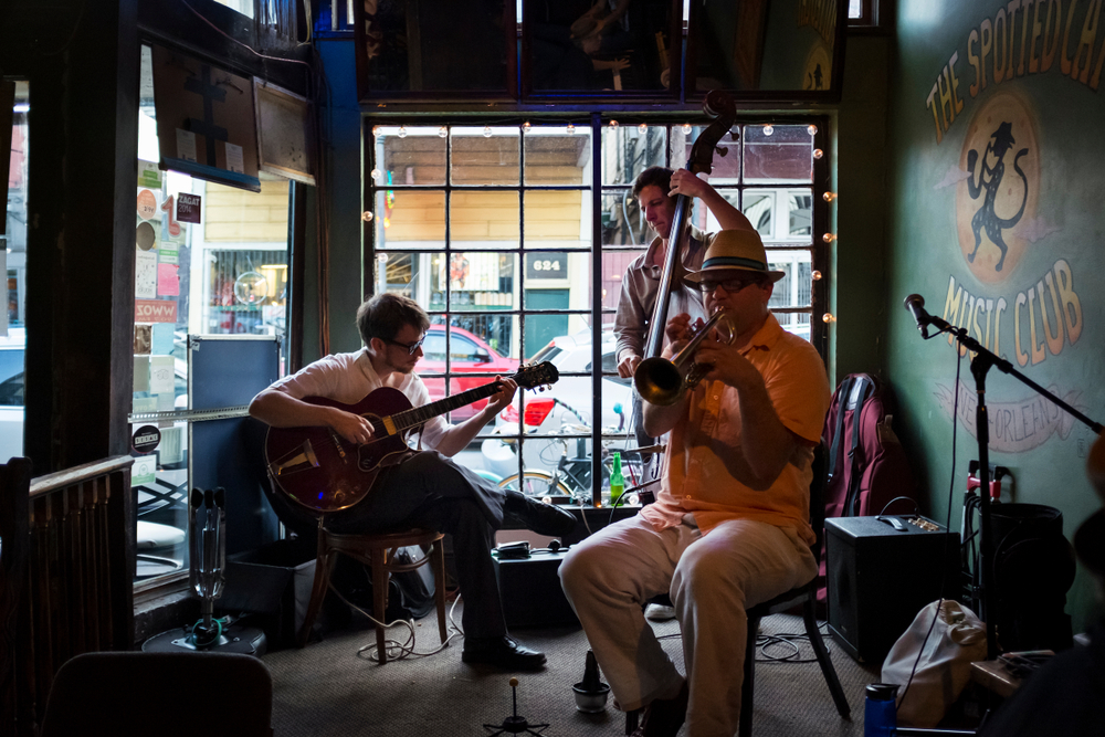 Great jazz in new orleans