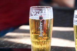Brewed beers in Brussels