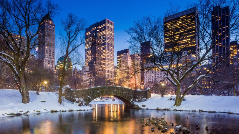 New York In The Winter