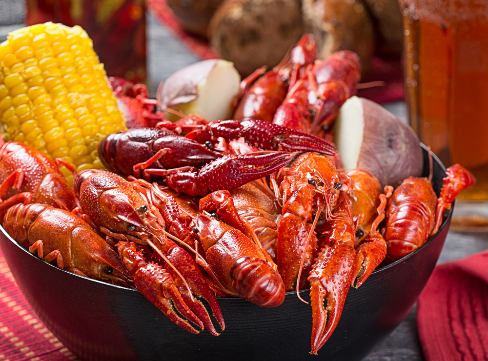boiled crawfish in new orleans