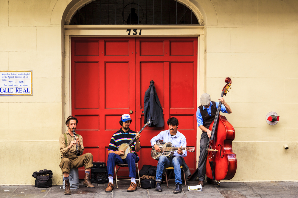 live street music in new orleans