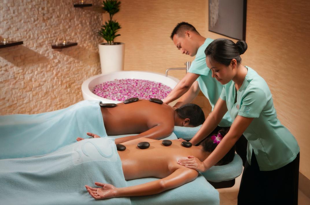 hotel's Zen the Spa in Rotana