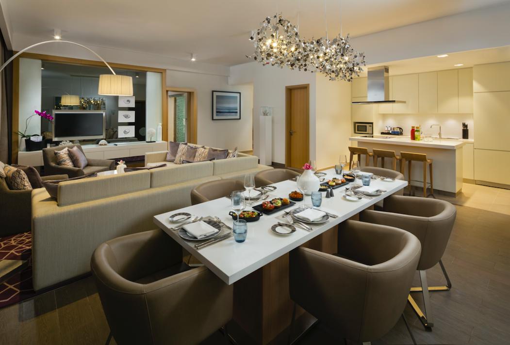 Rotanda Luxurious dining area