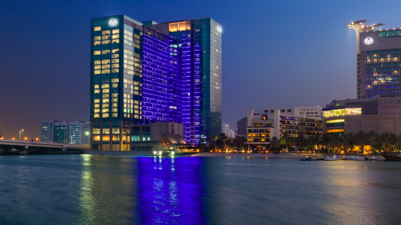5 Star Beach Rotana With Spa Treatments