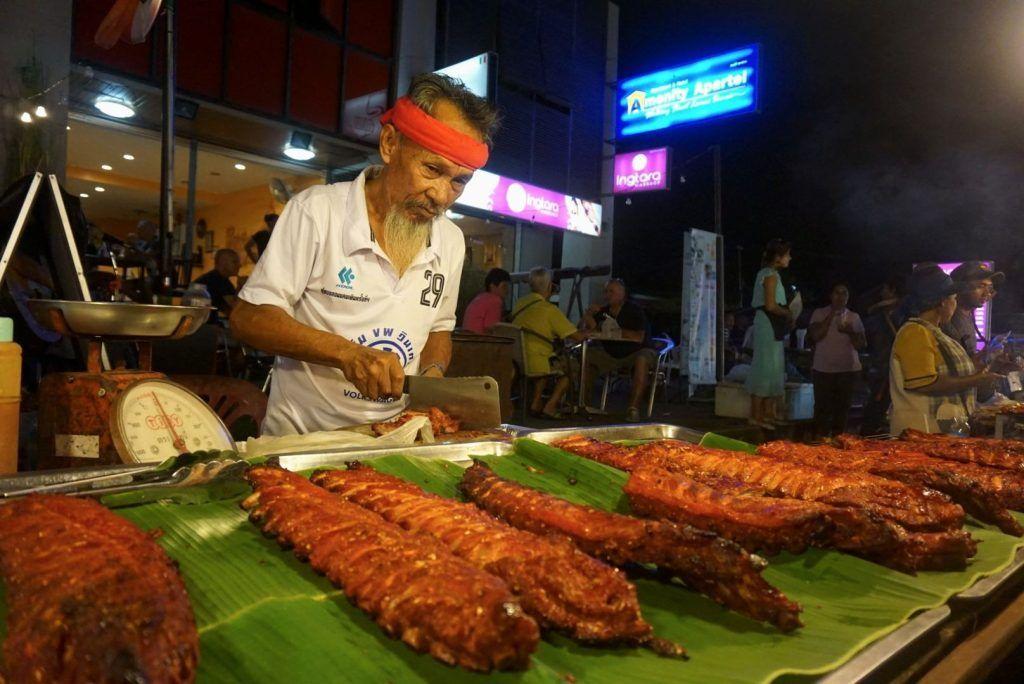 Delicious Food in lamai sunday night market