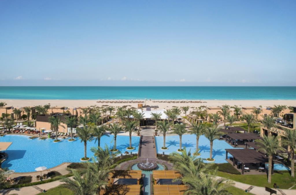 Beautiful view of the Saadiyat Rotana Resort