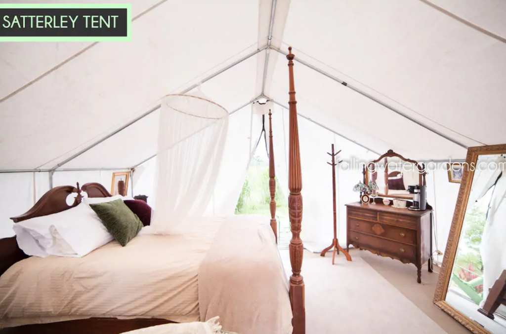 Slattery Tent, Washington glamping