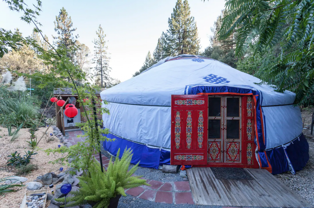 Mongolian Yurt, California