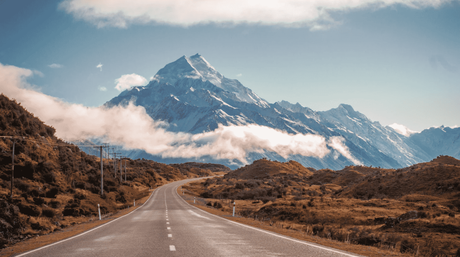 The Most Beautiful Mount Cook Road