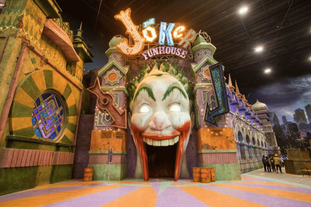 The Joker FunHouse in Abu Dhabi