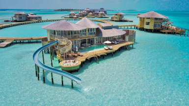 Famous Maldives Slide Hotel