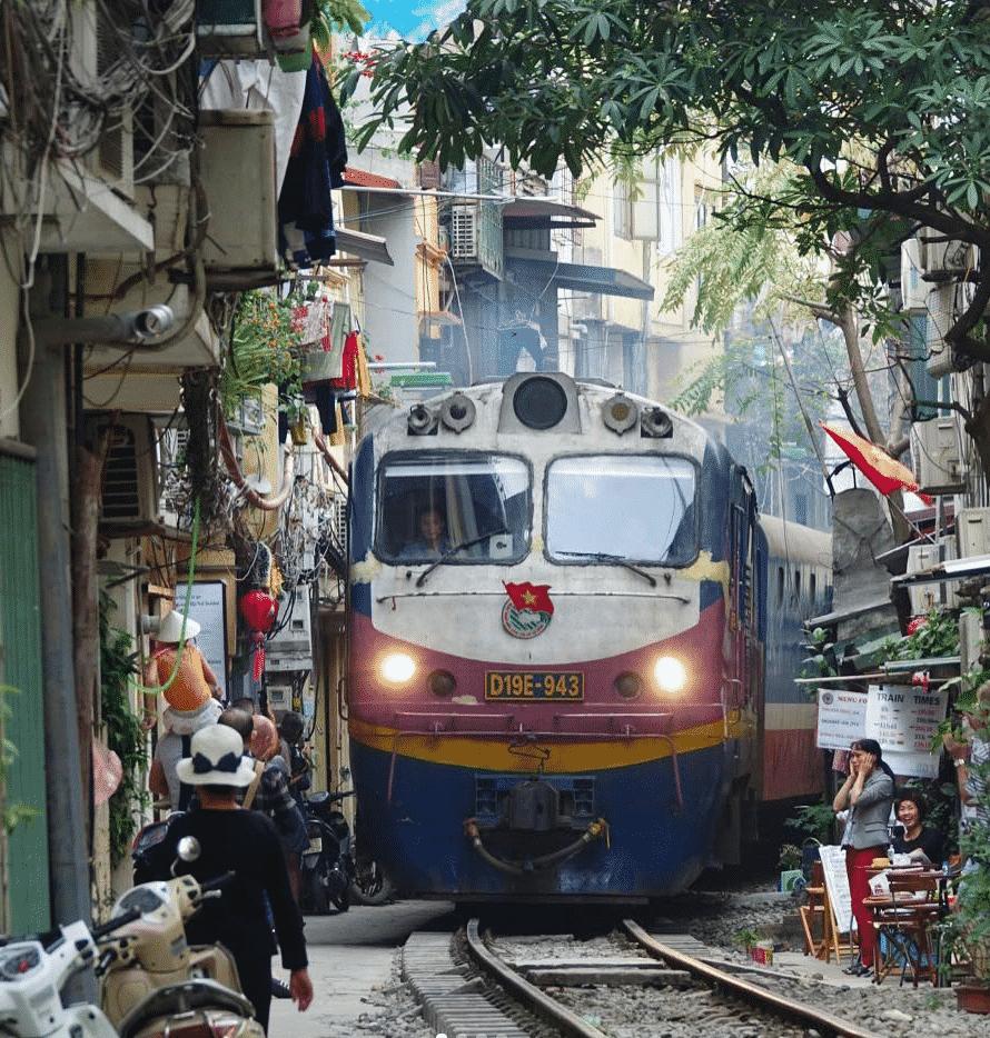 एशिया हनोई, वियतनाम शहरों का दौरा करना चाहिए