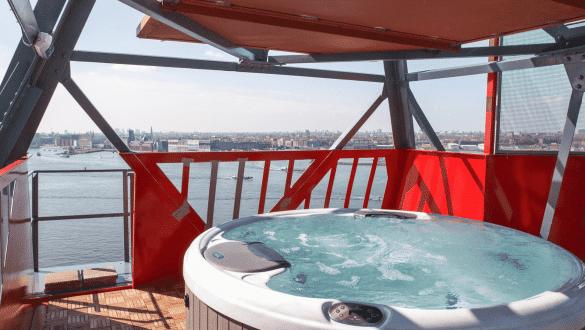 Amsterdam crane hotel