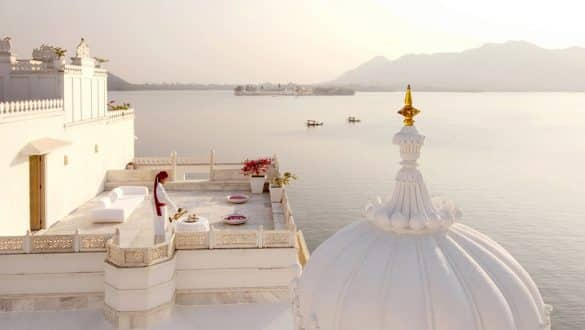 Taj Lake Palace Hotel In India