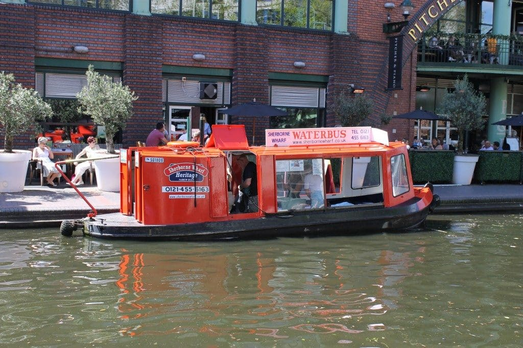 Hop on a Water Bus along the canals