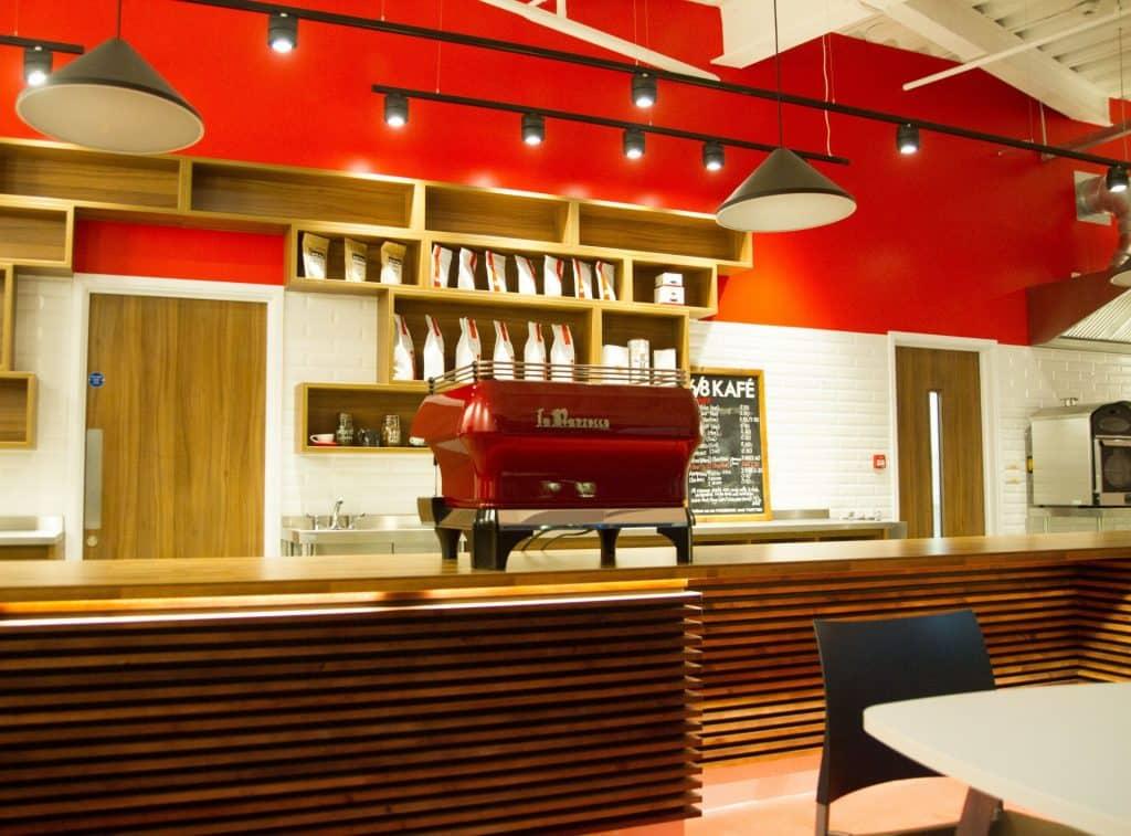 Six Eight Kafé in Birmingham