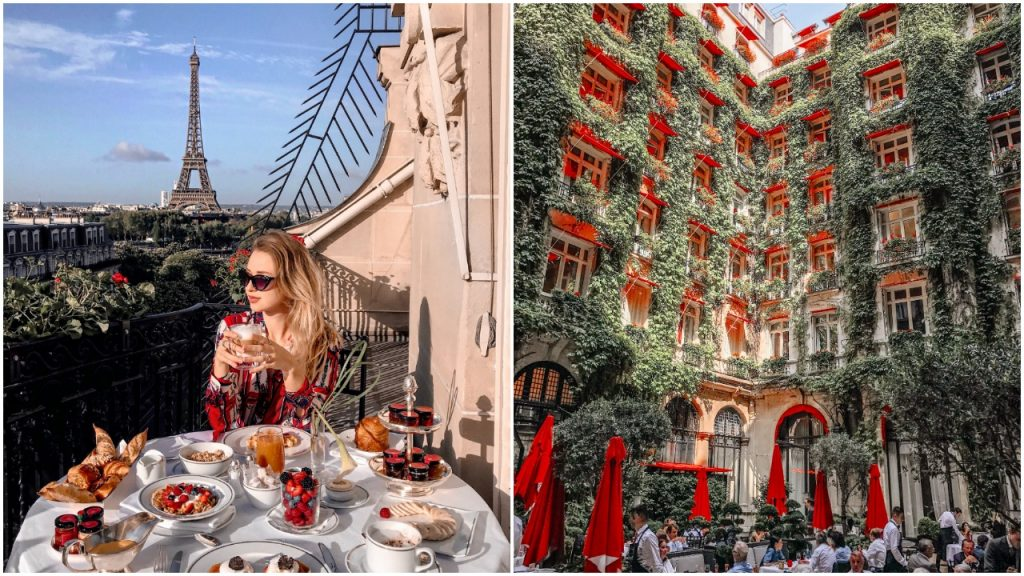 Plaza Athenee in Paris