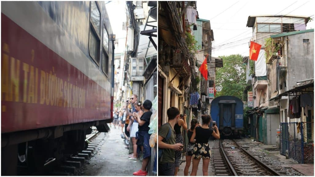 Hanoi's Famous Train Street