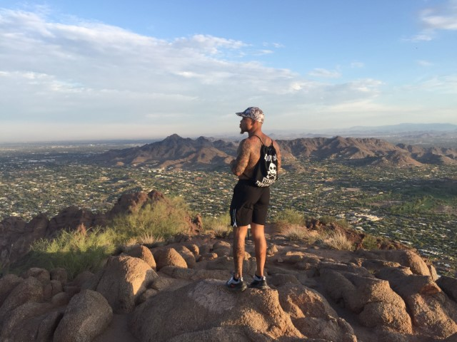 Hike camelback mountain