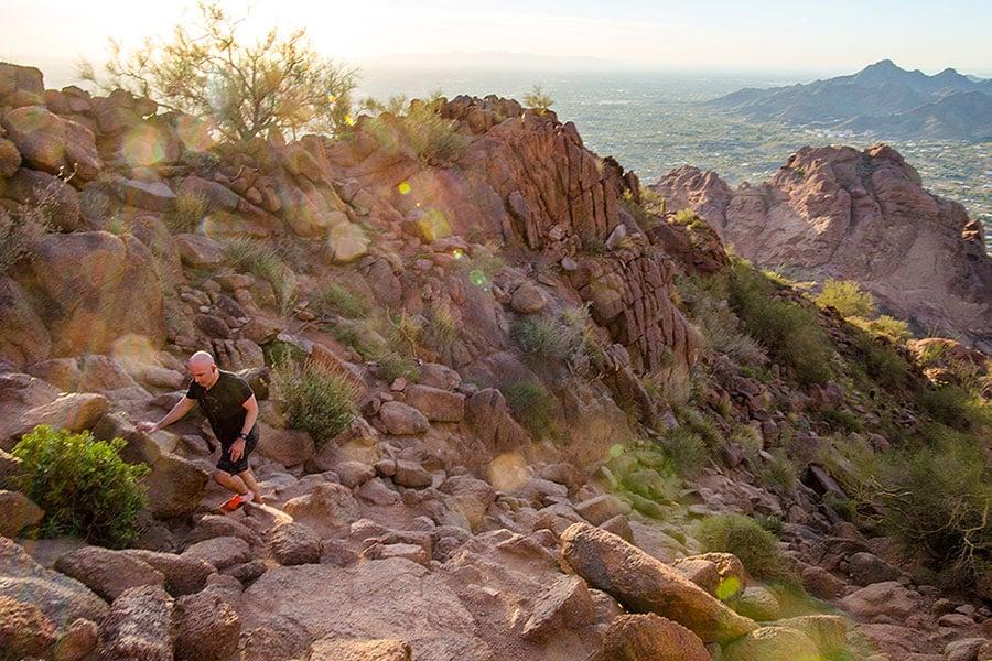 Hike Camelback Mountain in Phoenix