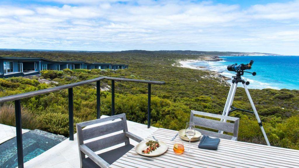 Breathtaking views in Southern Ocean Lodge