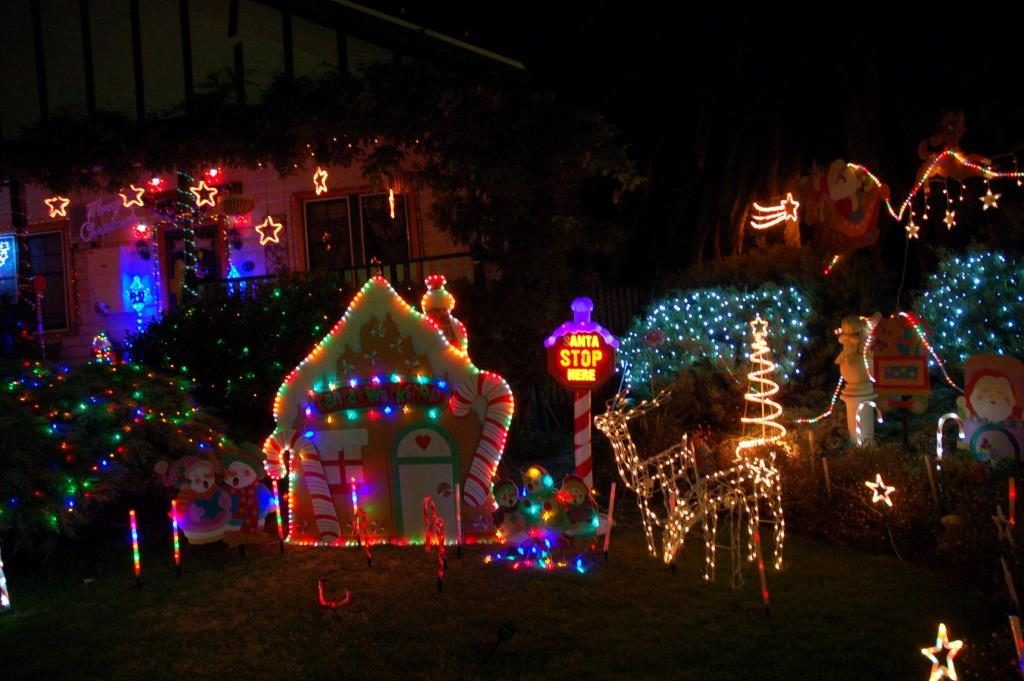 Make a Christmassy visit to The Lights of Lobethal in Adelaide