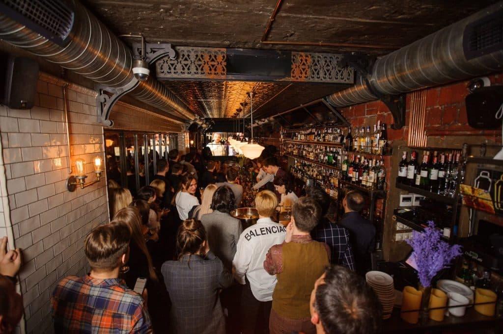 Parovoz Speakeasy Bars In Kiev