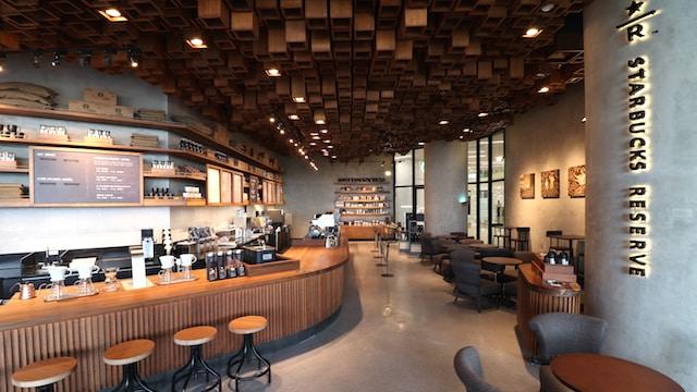 Starbucks Reserve at S Maison