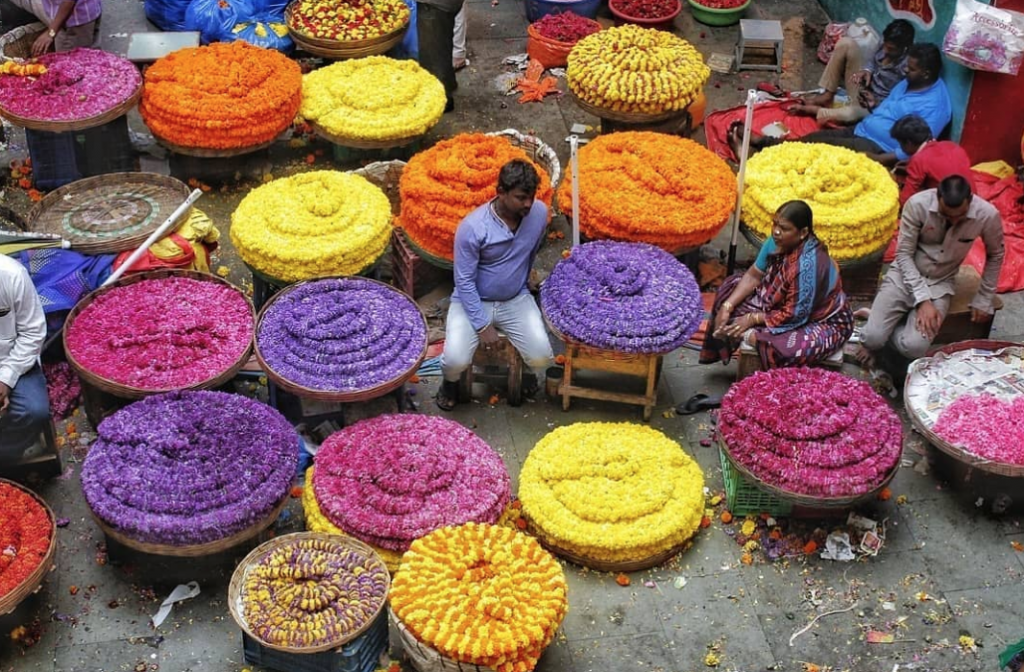 Bangalore's largest wholesale flower