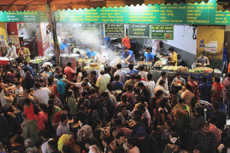 VV Puram Food Street, Bangalore