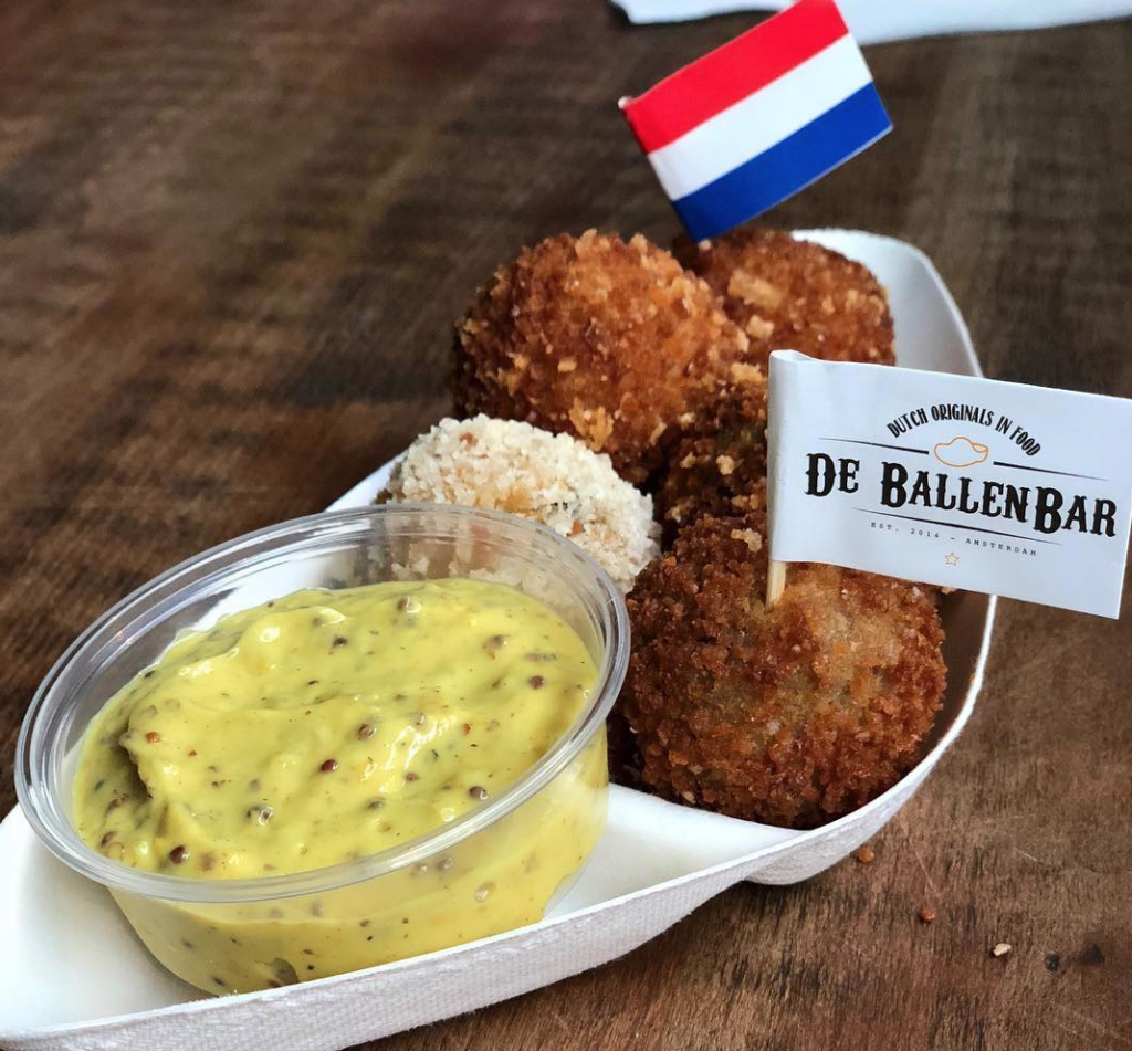 Bitterballen Amsterdam food