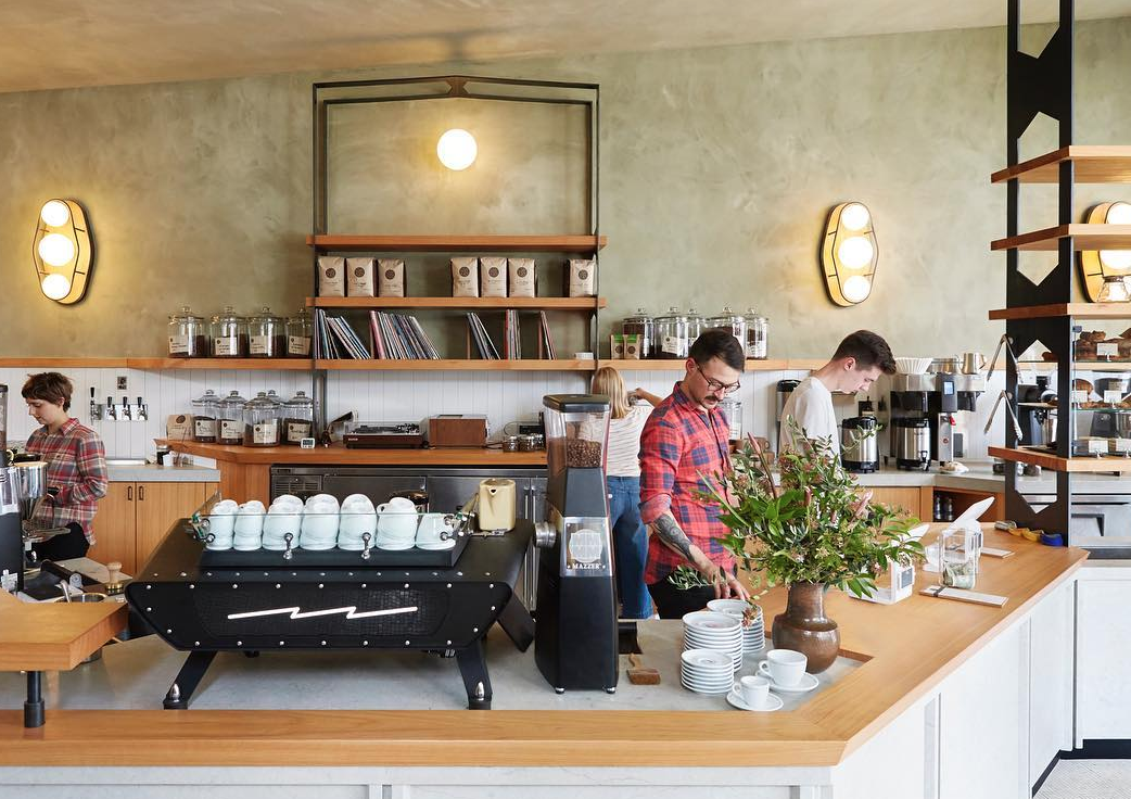 Sightglass Cafe in America