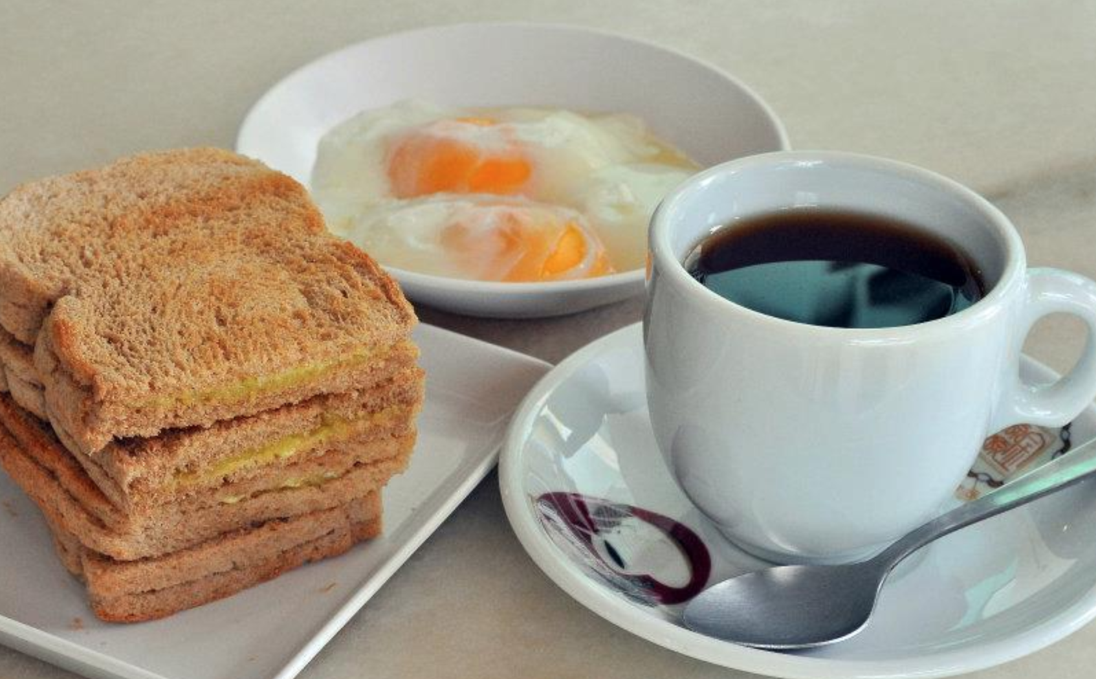 Kaya Toast with Soft-Boiled Eggs