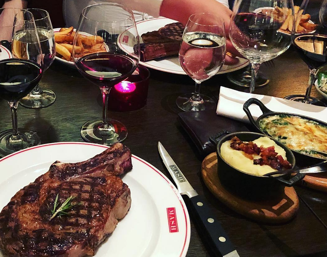 Mash Odense Steak