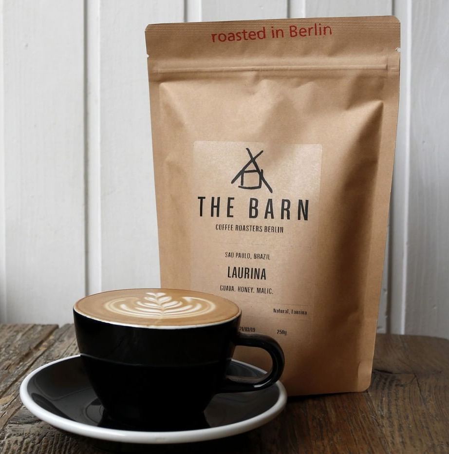 The Barn Roastery Cafe in Europe