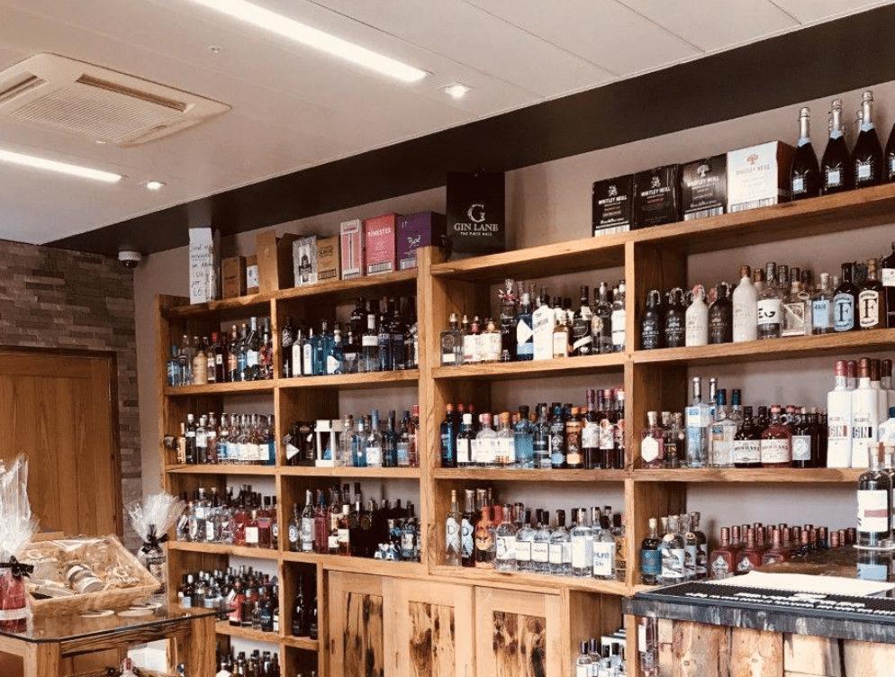 Gin Lane Bars In Yorkshire