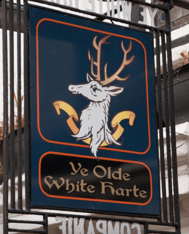 Ye Olde White Harte Bars In Yorkshire