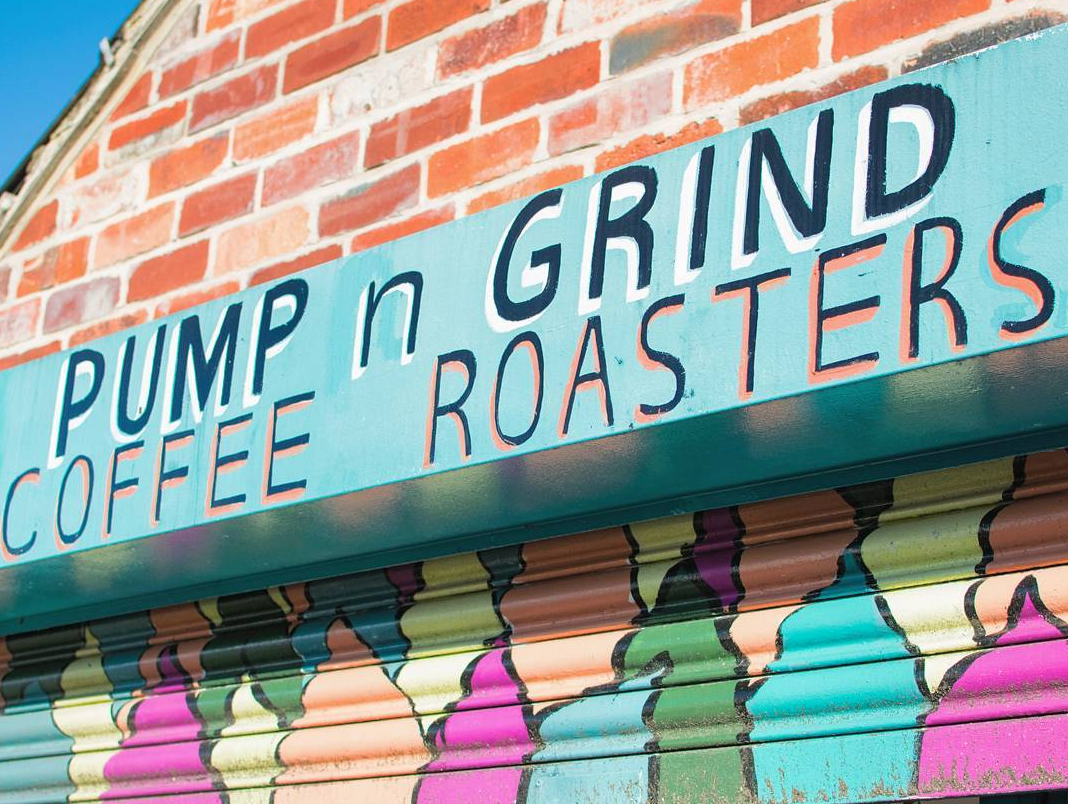 Pump n Grind Coffee in Yorkshire