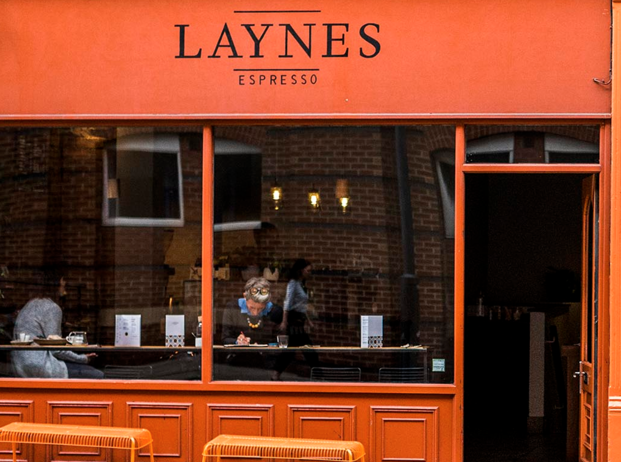 Laynes Espresso Cafe in Yorkshire