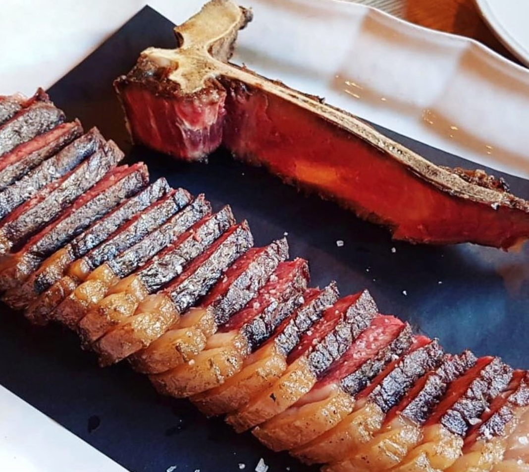 T-Bone Steak Welsh Food