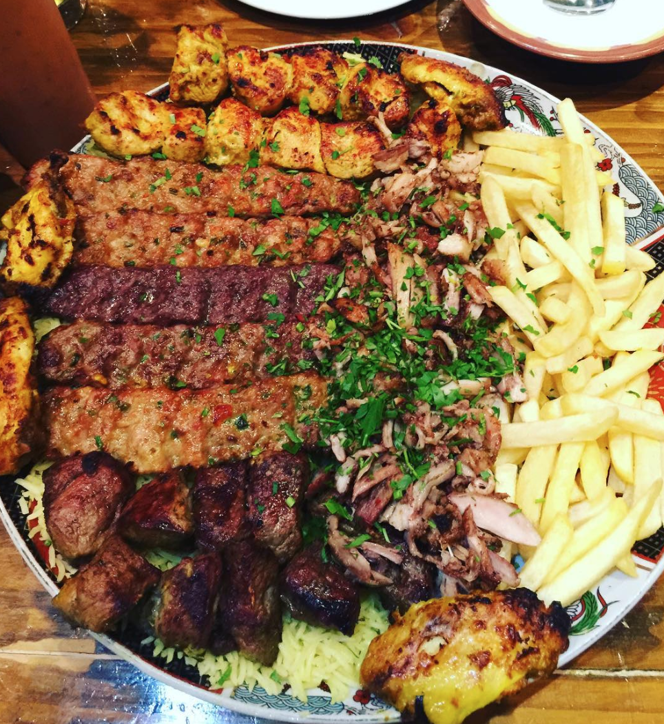 Mixed Grill Platter In Welsh