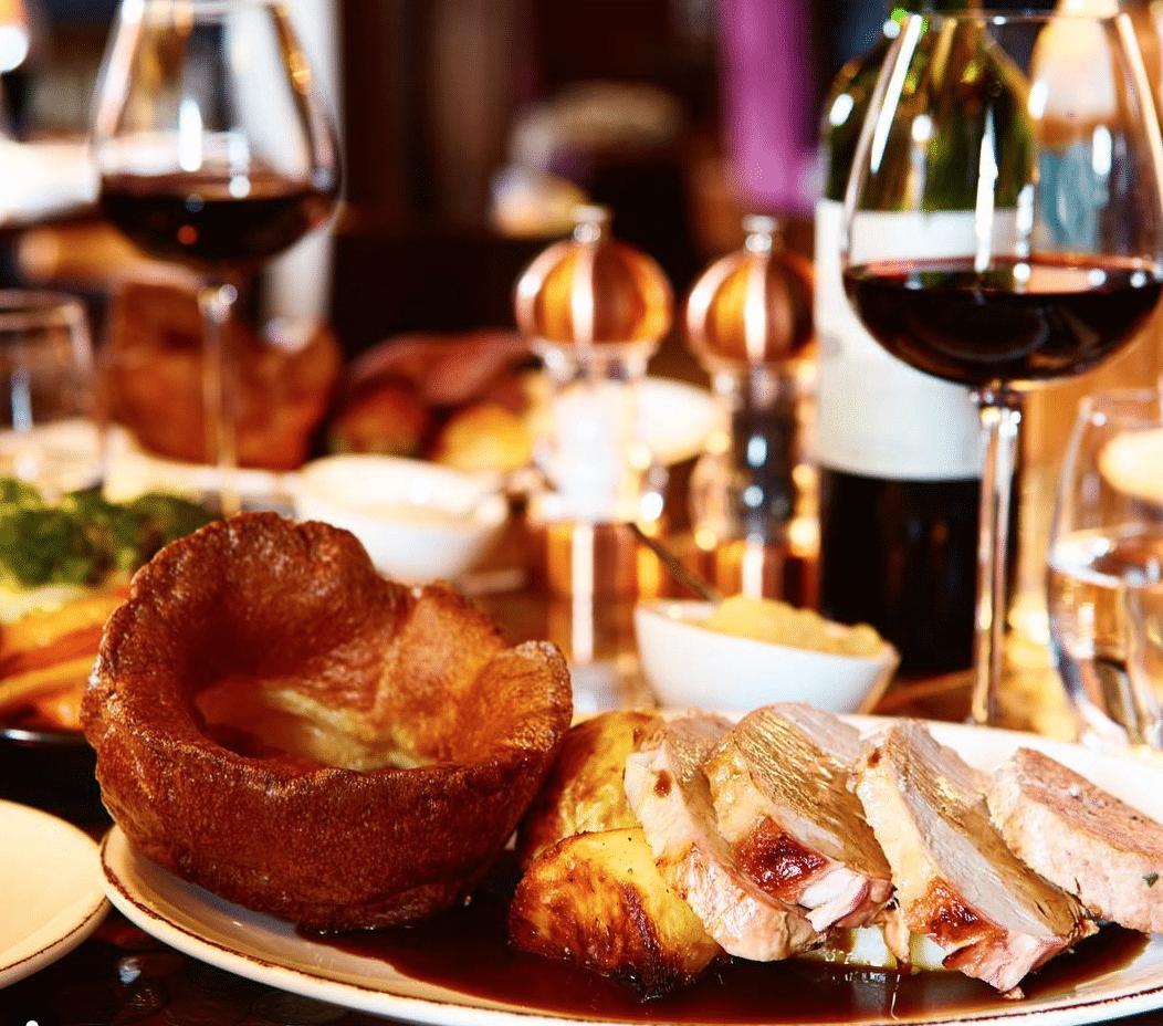 Sunday Roast In Yorkshire