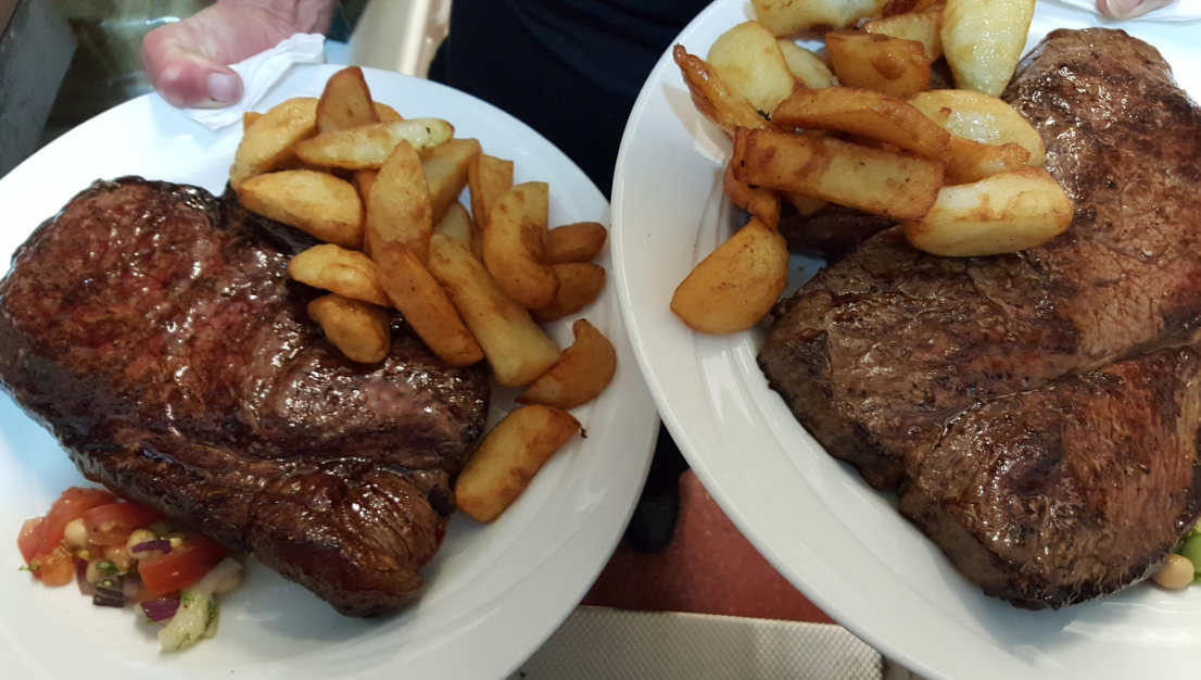 Oz Steak Yorkshire food