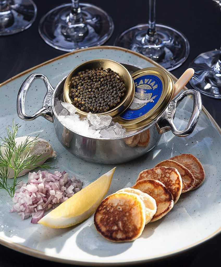 Caviar Dish Norway