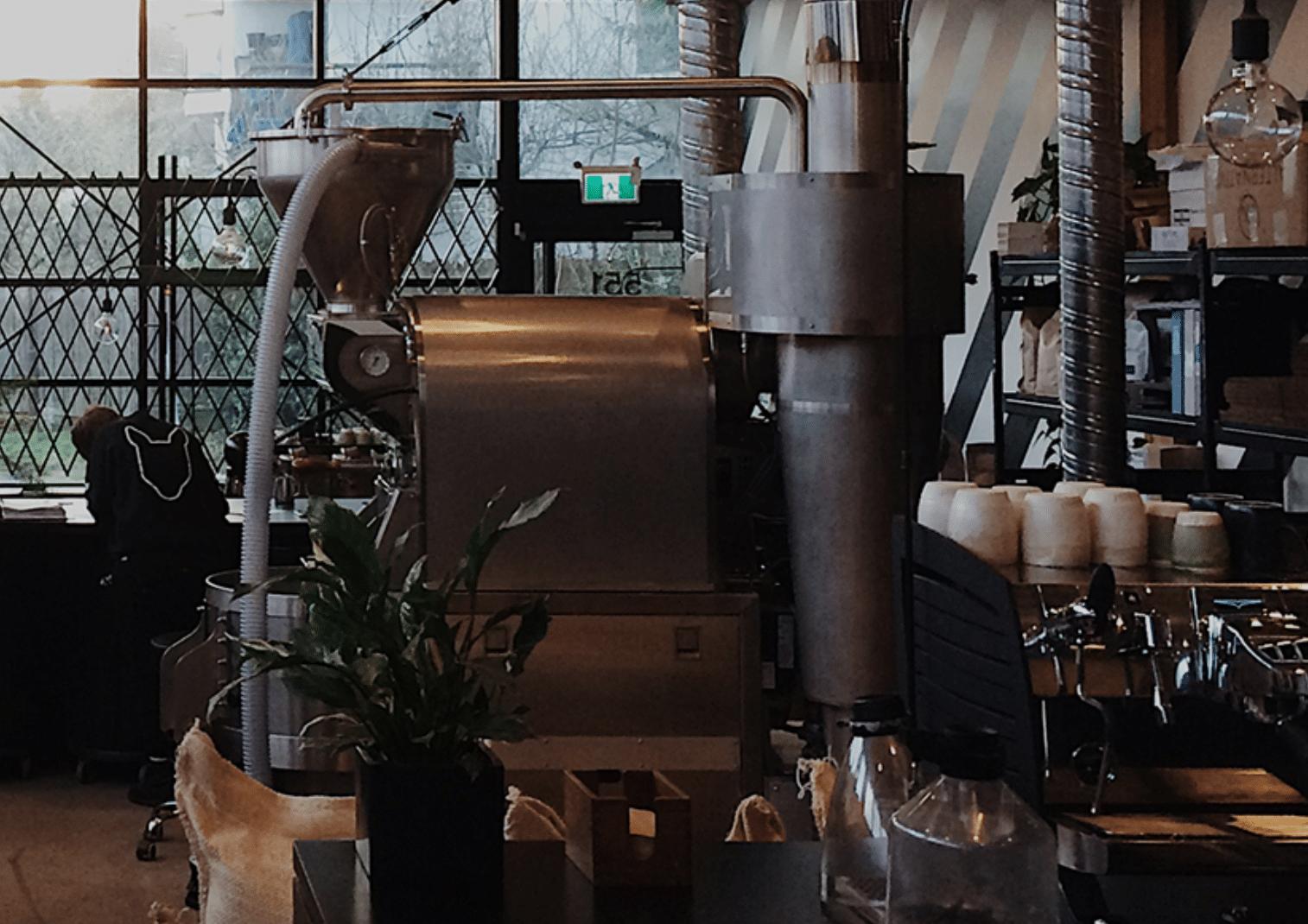 Timbertrain Coffee Roasters in Canada