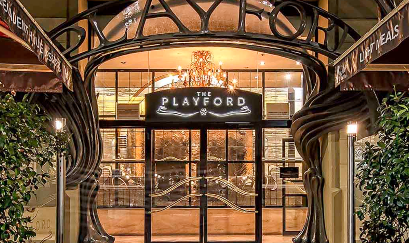 The Playford Hotel in Adelaide