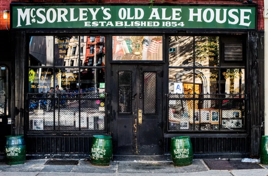 McSorley's Old Ale House Irish Bar in America