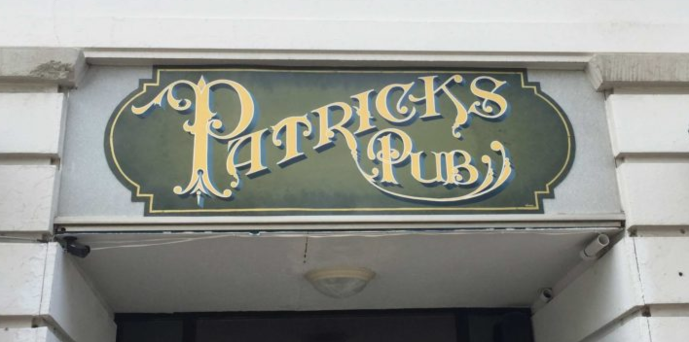 Patrick's Pub in America